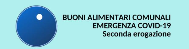 BUONI ALIMENTARI COMUNALI EMERGENZA COVID19 aggiornamento