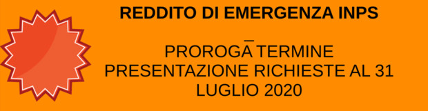 EMERGENZA DA COVID-19 | REDDITO DI EMERGENZA INPS
