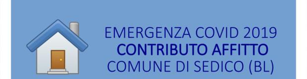 AGGIORNAMENTO: Emergenza COVID 19 – Contributo affitto