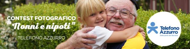 TELEFONO AZZURRO – Contest fotografico nonni e nipoti